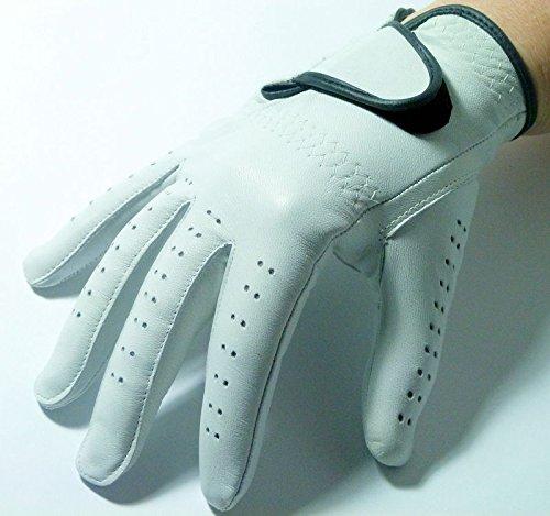 Linkshänder Golfhandschuh LADY links weiss Damen S M L Golf Handschuh (L) (Leder Linkshänder Golf Handschuh)