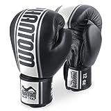 Phantom phbgmtpro-sw MT Pro Muay Thai Boxhandschuhe, schwarz / weiß