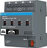 Busch-Jaeger Schaltaktor 4-Fach 6251/0.4 REG Busch-Free@Home Bussystem-Schaltaktor 4011395180389
