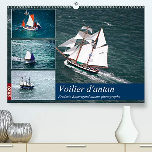 Voiliers d'antan(Premium, hochwertiger DIN A2 Wandkalender 2020, Kunstdruck in Hochglanz): Photos aériennes d'anciens voiliers (Calendrier mensuel, 14 Pages ) (Calvendo Mobilite)