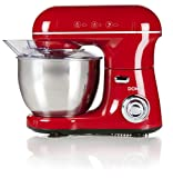 Domo DO9116KR Küchenmaschine, Rot