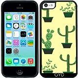 Coque Silicone pour Iphone 5C - Motif De Cactus by Luizavictorya72