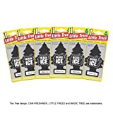 Best Car Fresheners - Little Trees Air Fresheners, Black Ice, 6 Pieces Review