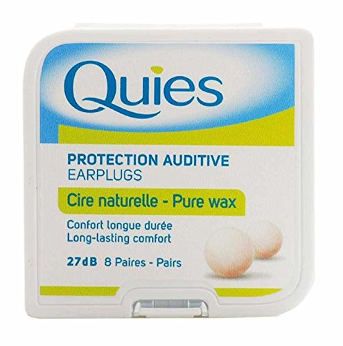 5-x-quies-wax-ear-plugs-8-pairs-five-packs-super-deal-by-quies