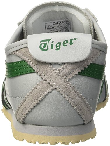 Asics Mexico 66, Sneakers Basses mixte adulte Grigio (Light Grey/Green)