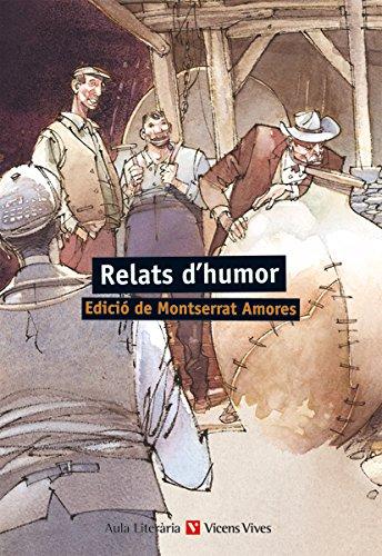 Relats D'humor. Auxiliar Batxillerat (Aula Literària) - 9788431668570