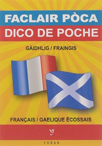 GAELIQUE ECOSSAIS-FRANCAIS (DICO DE POCHE)