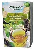 Maulbeerblätter Tee, 60 x 2g, 120g, bremsen Zuckeraufnahme auch aus Kohlenhydraten, Heißhunger, halten Zuckerspiegel niedrig, Abnehmen und Gewicht reduzieren, cholesterinsenker