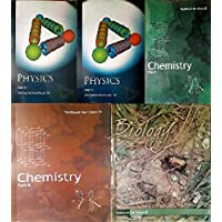 NCERT textbooks physics, chemistry and biology class 11(5 books combo) 2019 edition