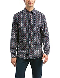 Desigual Manolocolumn - Chemise casual - Taille normale - Manches longues - Homme