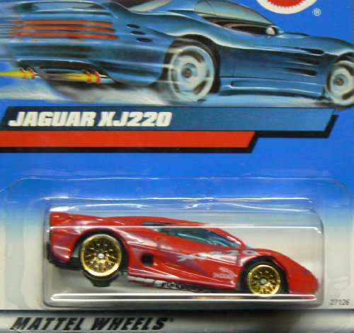 #2000-160 Jaguar XJ220 2000 Card Collectible Collector Car Mattel Hot Wheels 1:64 Scale by Hot Wheels