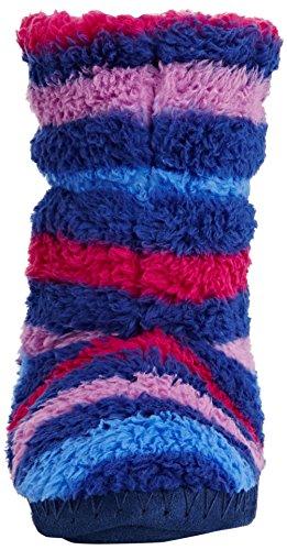 Joules  Padabout, Chaussons doublés fille - Multicolor (Ruby)