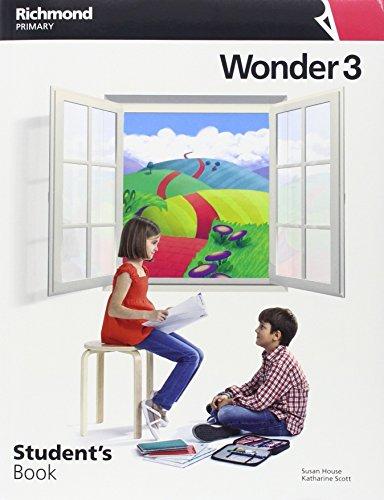 WONDER 3 STD+LANGUAGE REFERENCE - 9788466824736 por Varios autores