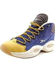 Reebok Question Mid Piel Zapato de Baloncesto