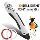 ACTOPP 3D Pluma Inteligente 4ª Generación Pluma para Impresión 3D Pen Lápiz de Impresión 3D Bolígrafo Impresora 3D Estereoscópica 3D Recambio con 2 Filamentos Gratuitos para Dibujos 3D Creación 3D Regalo Niños