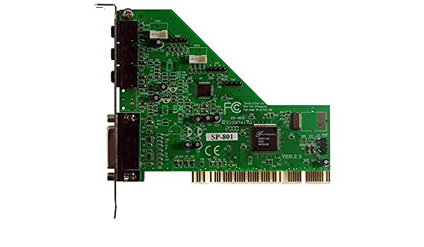 FORTEMEDIA SP-801 PCI SOUND CARD WINDOWS 7 64BIT DRIVER DOWNLOAD
