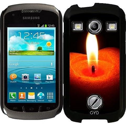 Custodia per Samsung Galaxy Xcover 2 (S7110) - Candela Fuoco Natale by WonderfulDreamPicture