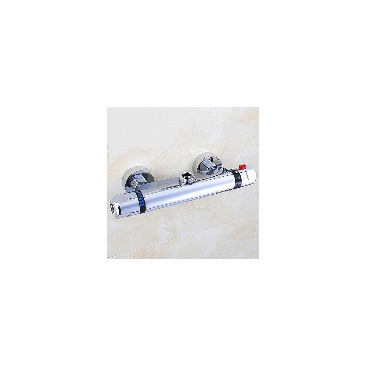 51rS4eHNWBL. SS1200  - Vinteky® Grifería Económico Elegante - Grifo termostático de ducha