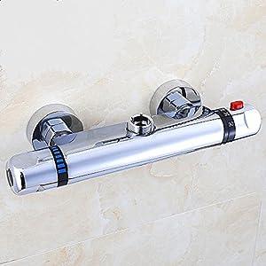 Vinteky Grifería Económico Elegante – Grifo termostático de ducha