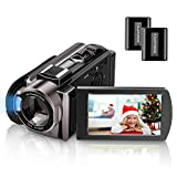 Video Camera Camcorder Kenuo Full HD 1080P Digital Camera Vlogging Camera For YouTube