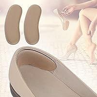 Wuudi Fuß Aufkleber 5Paar, Fuß Supply Stoff Hälfte Fuß Aufkleber Ferse Aufkleber Anti-Grinding Fuß Pad Fuß Pasten preisvergleich bei billige-tabletten.eu