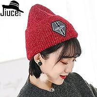 LTQ&qing Sombrero de punto de lana marea c¨¢lido invierno hombres y mujeres orejeras de lana sombrero , A , m (56-58cm)