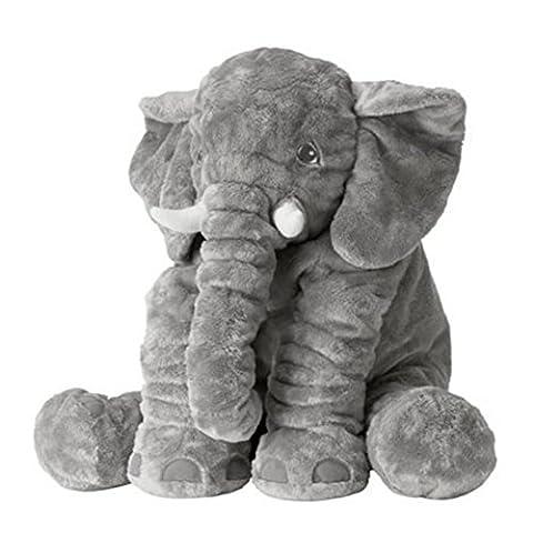 Bonways 60cm Baby Soft Plush Elephant Pillow Dolls Toys Small Kids Children Doll Gifts