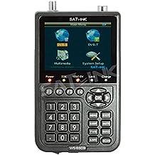 Bfsat SATLINK WS-6909 - Buscador de señal terrestre y de satélite DVB-S y DVB-T (manual y vídeo disponibles en inglés, francés y alemán)