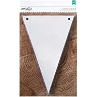 American Crafts bianco Penn DIY Shop-Striscione Chip, in acrilico, multicolore