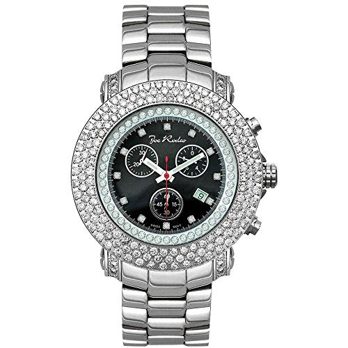 Joe Rodeo Diamant Homme Montre - JUNIOR argent 8 ctw