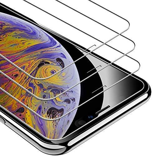 UNBREAKcable iPhone XS Max Panzerglas [3 Stück] 9H Härte Panzerglasfolie, 2.5D Bildschirmschutzfolie, 3D-Touch, Anti-Bläschen, Anti-Kratzer (iPhone XS Max Panzerglas)
