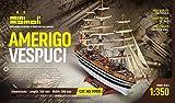 MINI MAMOLI - Modello kit barca AMERIGO VESPUCCI serie MINIMAMOLI scala 1:350 - DUS_MM10