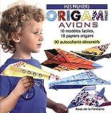 Mes premiers origami avions : 10 modèles d'avions faciles à réaliser, 10 papiers de couleur, 94 autocollants