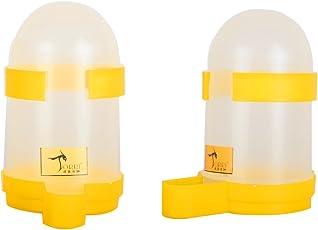 Torri Combo Plastic Bird Water & Food Feeder (Pack Of 2)