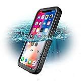 Custodia Impermeabile per iPhone X / iPhone XS, SPORTLINK IP68 Certificato Waterproof Cover Slim Antiurto Antineve Antipolvere Antigraffio Subacquea Caso Full Protezione Case Protettiva per Apple iPhone X / iPhone XS (5.8 in)