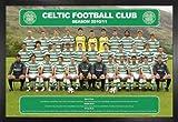 Fußball Poster und MDF-Rahmen - Celtic Glasgow,