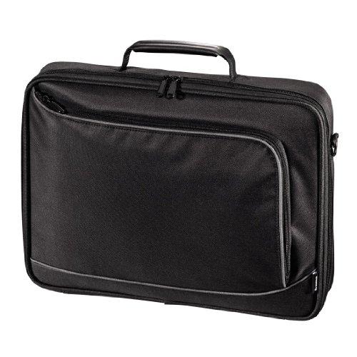 Hama Notebook-Tasche Sportsline Bordeaux (Tasche für Laptop / Notebook, Notebooktasche geeignet für Computer bis 15,6 Zoll / 40 cm Bildschirmdiagonale, Laptoptasche) schwarz