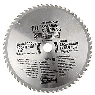 ATE Pro. USA 3301660Zähne Hartmetall Klinge, 25,4cm