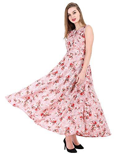 16 Always Women's Pink Dress, Western Dresses,Maxi Dress- Fancy Dress for Women