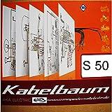 Kabelbaum mit farbigem Schaltplan für Simson S50 B2
