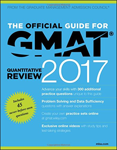 The Official Guide for GMAT Quantitative Review 2017 with Online Question Bank and Exclusive Video por Gmac (Graduate Management Admission Council)