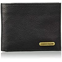 Hidesign Black Men's Wallet (Hidesign Mens Wallet 017SC Black)