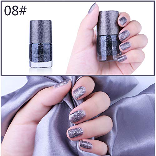 Vernis à ongles Smoothie à séchage rapide, huileux et imperméable Vernis à ongles doré, sable, décolorant et durable