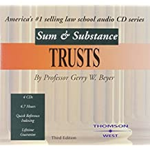 Beyer's Sum and Substance Audio on Trusts, 3D (CD)