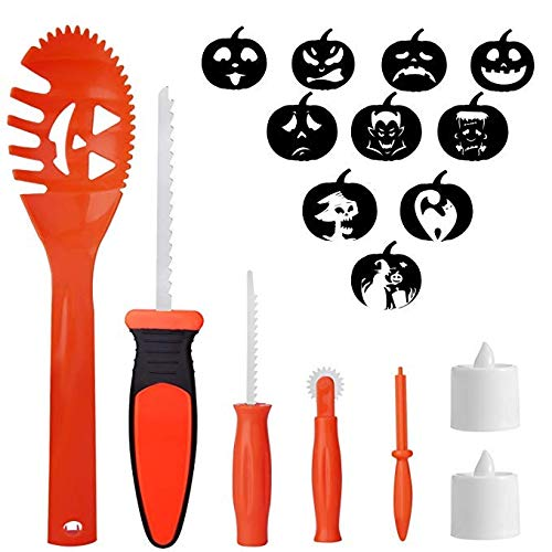 WEBSUN Halloween Dekoration Kürbis Carving Tools für Kinder -