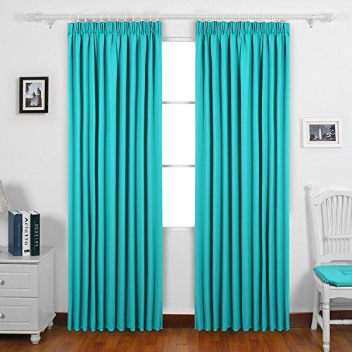 Curtains Bedroom Pencil Pleat Amazon Co Uk