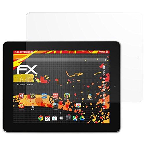 atFolix Schutzfolie kompatibel mit Blaupunkt Endeavour 1010 HD Bildschirmschutzfolie, HD-Entspiegelung FX Folie (2X)