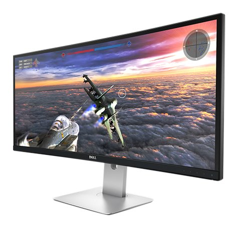 Dell UltraSharp U3415W (34 Zoll) Monitor - Curved