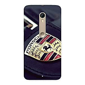 Gorgeous Porse Multicolor Back Case Cover for Motorola Moto X Style