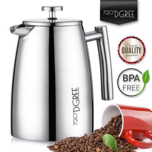 french-Press-French-Sunrise-950-ml-de-720--Dgree-para-los-ms-altos-Caf-la-Premium--Cafetera-de-mbolo-de-acero-inoxidable-con-filtro-permanentecolador-elegante-caf-Jarra-hasta-8-tazas-de-caf-diseo-de-d